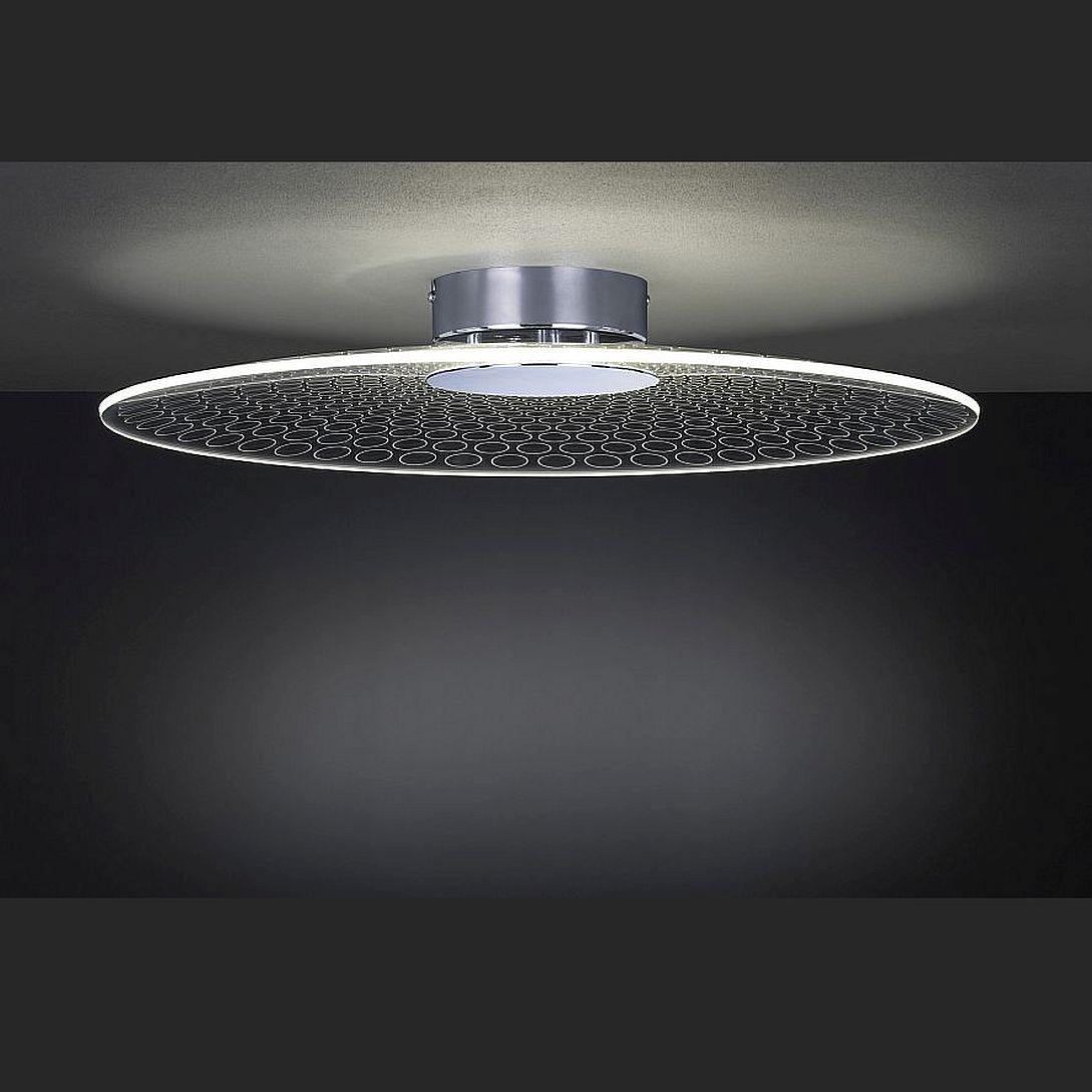 Deckenlampe mit LED Licht  Lampenschirm in spezieller Optik