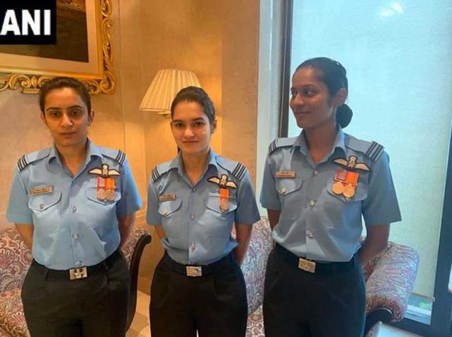 IAF की पहली महिला फाइटर को मिला 'नारी शक्ति पुरस्कार'