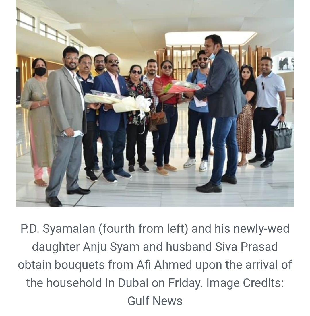 NRI परिवार ने केरल से यूएई तक के लिए निजी जेट पर 40 लाख रुपये खर्च किए! 1