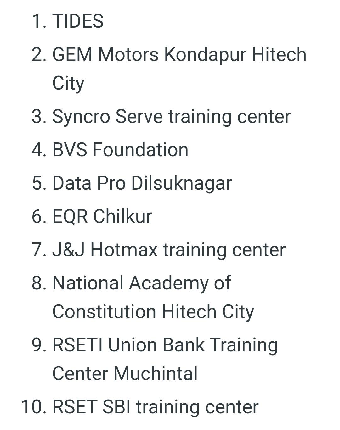 तेलंगाना में जॉब फेयर: दस कंपनियां 20 जुलाई को करेंगी इंटरव्यू! 4
