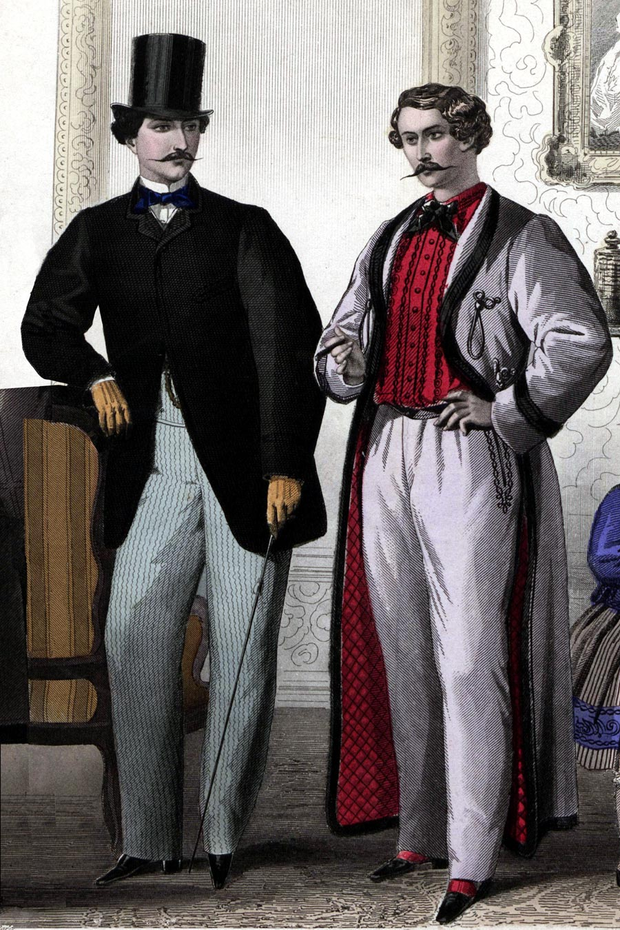 early victorian clothing for
