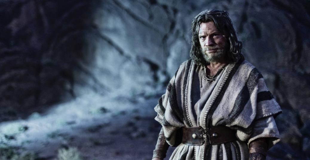 Moses at Mt. Sinai.