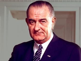 الرئيس السادس والثلاثون للولايات المتحدة