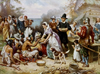 Image result for first thanksgiving