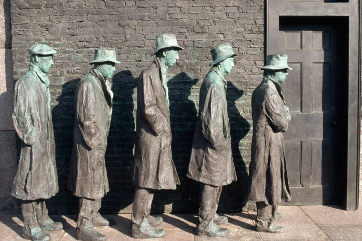 Soup Kitchens Breadlines Great Depression History