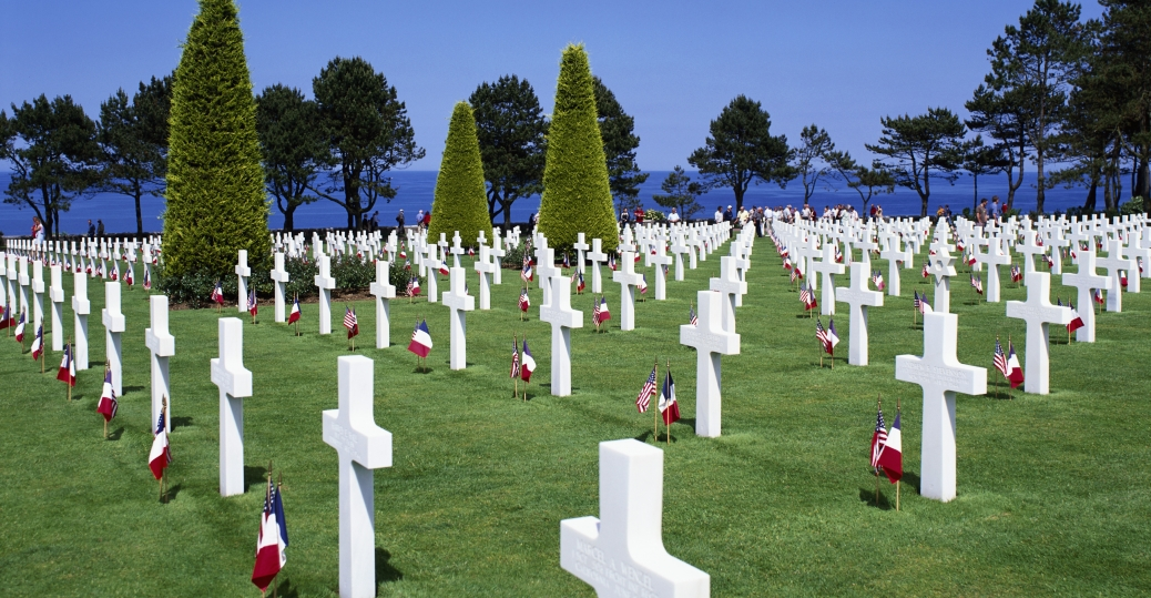 Image result for normandy cemetery and memorial