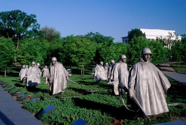 Image result for Korean War Veterans Memorial