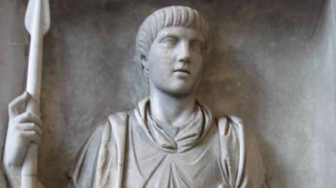Relief showing Praetorian Guard