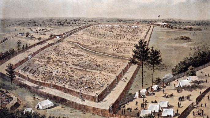 Image result for andersonville prison