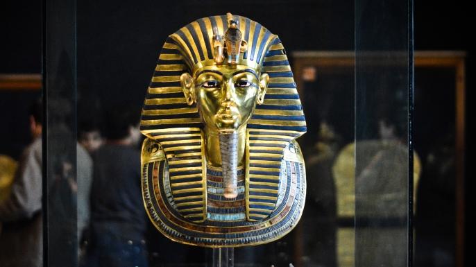 Image result for Tutankhamun's mask
