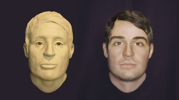 Faces Of Drowned Civil War Sailors From USS Monitor