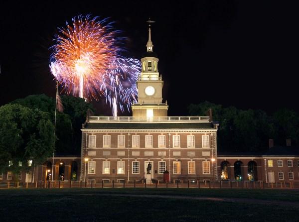 4th of July Independence Hall Philadelphia