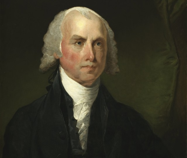 Portrait Of James Madison Credit Public Domain