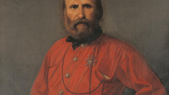 Portrait of Giuseppe Garibaldi, General, patriot and Italian politician. (Credit: DEA PICTURE LIBRARY/De Agostini/Getty Images)
