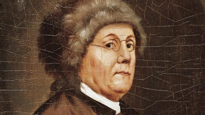 Portrait of Benjamin Franklin. (Credit: DeAgostini/Getty Images)