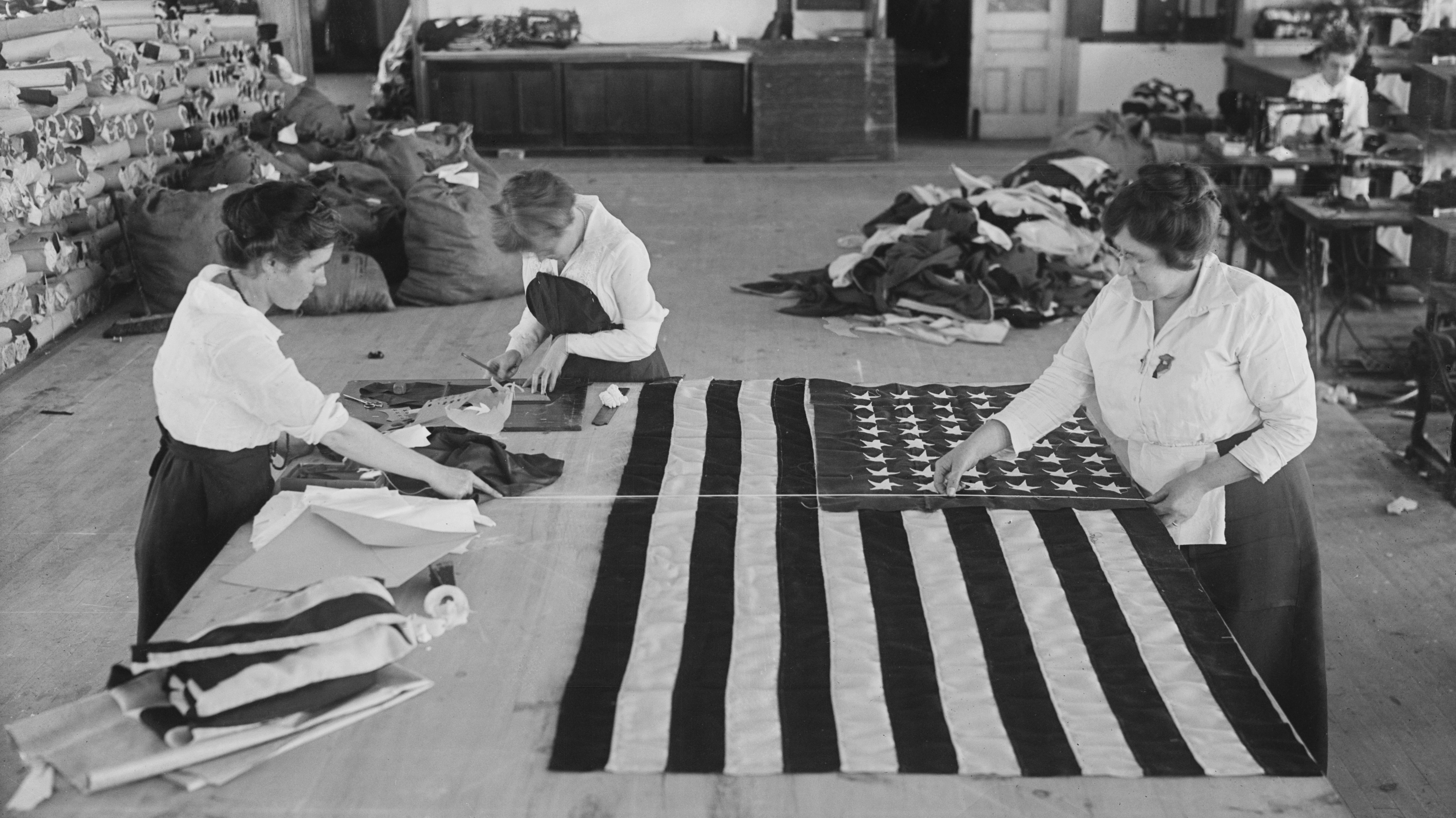 The Mysterious Origins Of The American Flag