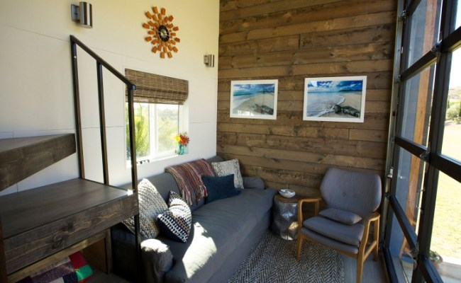 Tiny House Nation Tiny House Tour Surf Shack Chic Fyi
