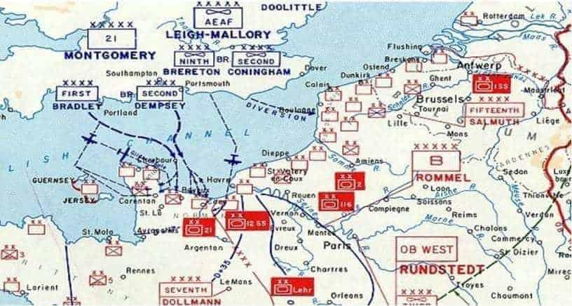 Map Europe Ww2 Area