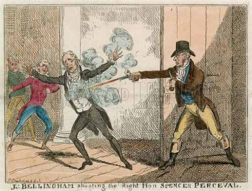 Image result for assassination of spencer perceval