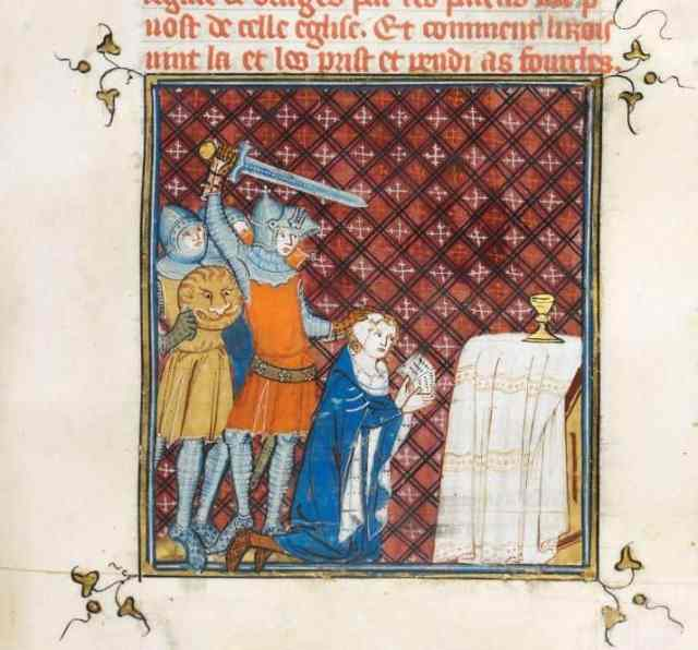 Die By the Sword: These 6 Medieval Murders Changed the Course of History