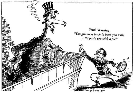 Dr. Seuss Propaganda: 9 Suprising World War II Propaganda
