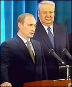 Yeltsin and Putin