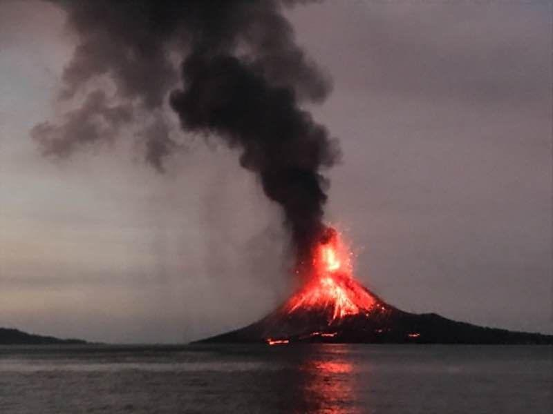 Web News System: Staggering Facts That Show Why Krakatoa Was A Monster Volcanic Eruption