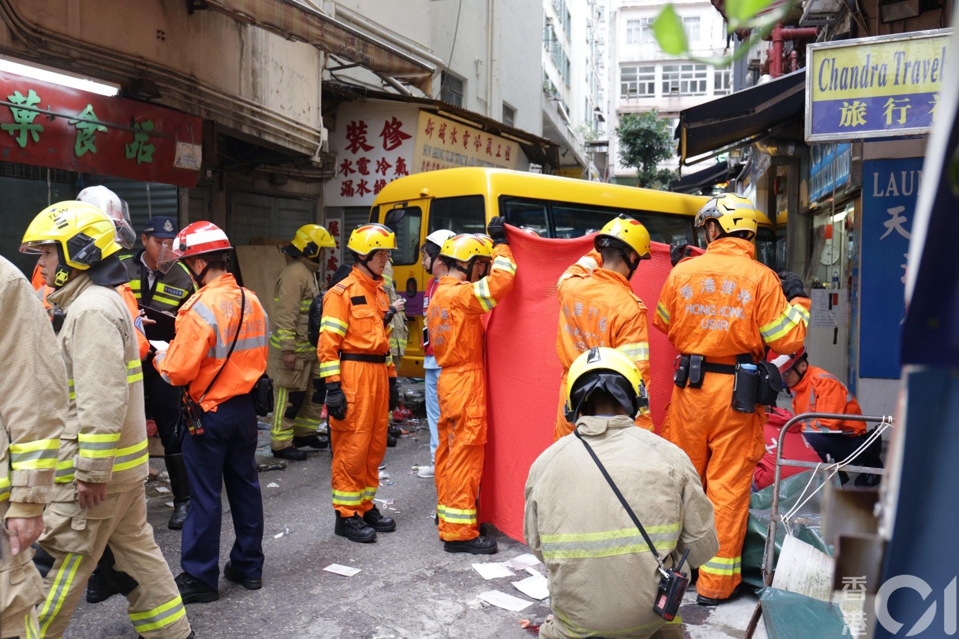 【北角車禍】疑忘記拉手掣釀四死 司機以身擋車遭捲車底拖行20米 - 香港 TIMES