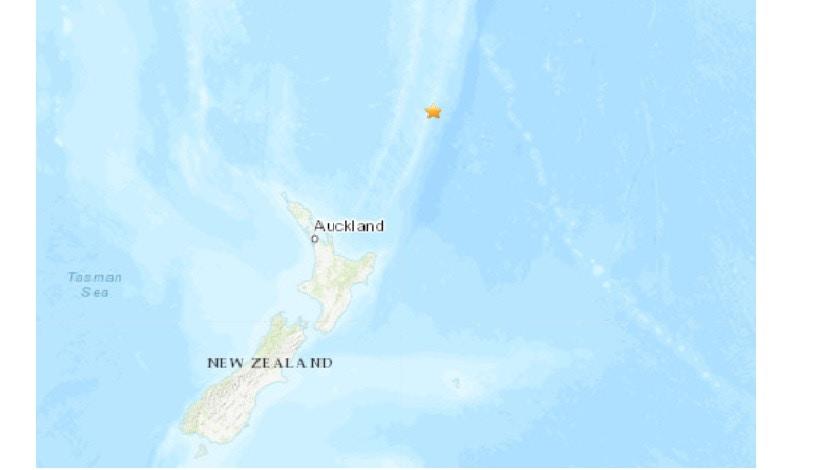 新西蘭克馬德克群島7.4級地震 一度發海嘯警告|香港01|即時國際