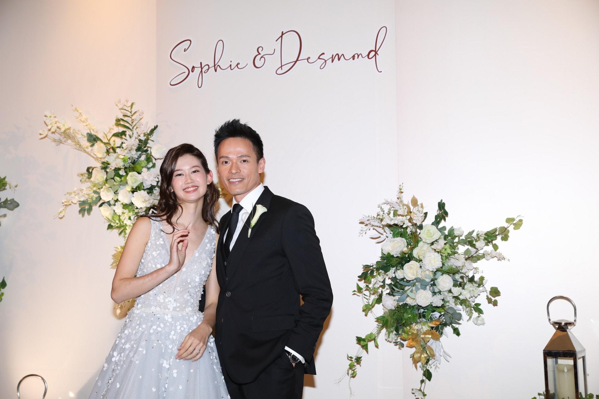 蘇頌輝娶圈外女友Sophie 新娘爆求婚過程冇下跪:佢話搵唔到地方|香港01|即時娛樂