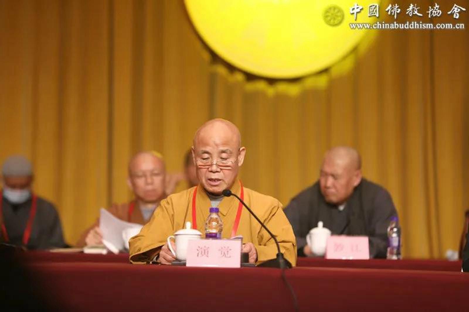 原副會長釋演覺出任中國佛教協會會長 前任曾陷性侵醜聞|香港01|即時中國
