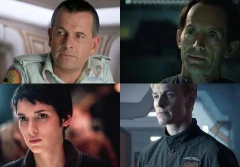 Los androides de la saga Alien aparecen en orden alfabético