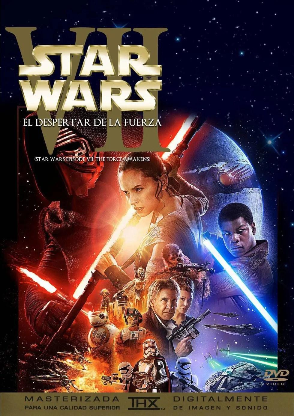 Star Wars Episodio Vii El Despertar De La Fuerza (2015