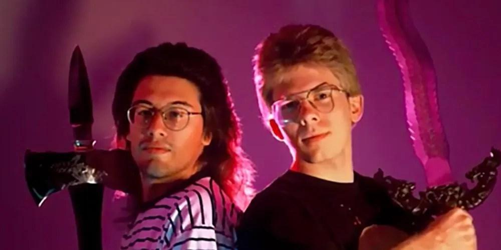 John Romero y John Carmack masters of doom