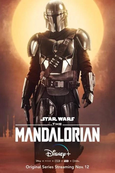 The Mandalorian - Poster characters