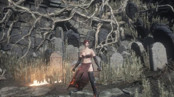 Desert Pyromancer Dark Souls 3 - Year of Clean Water