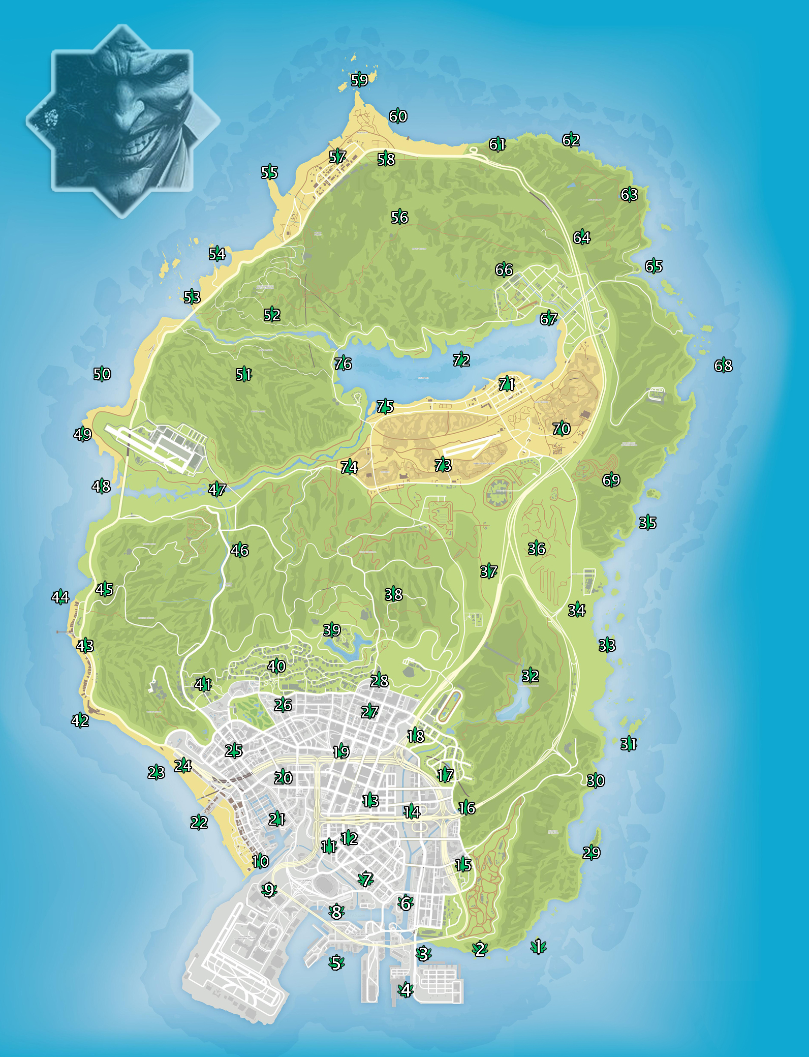 Gta Peyote Locations : peyote, locations, Peyote, Locations, Online