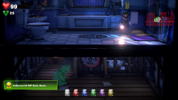 Image showing how to get the Yellow Gem in RIP Suite.