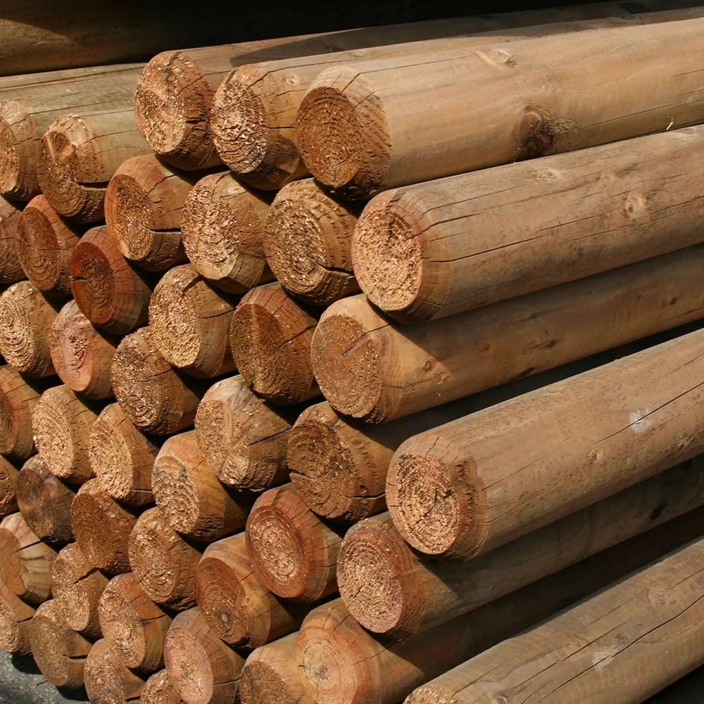 Zaunpfosten Holz Setzen Great Schotter Bei Lehmigem Boden