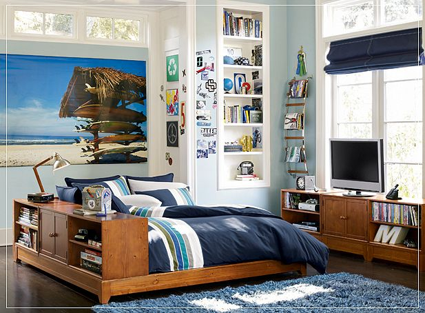 promote: Teen Room Ideas 2 - Boys' Rooms