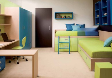 Shared Spaces Bedrooms For Two Kids