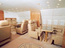 Interior of Vladimir Putin's Plane