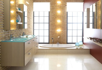 Small Designer Bathrooms