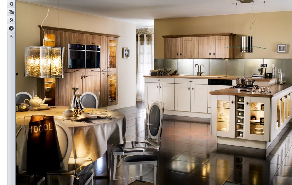 23 Very Beautiful French Kitchens