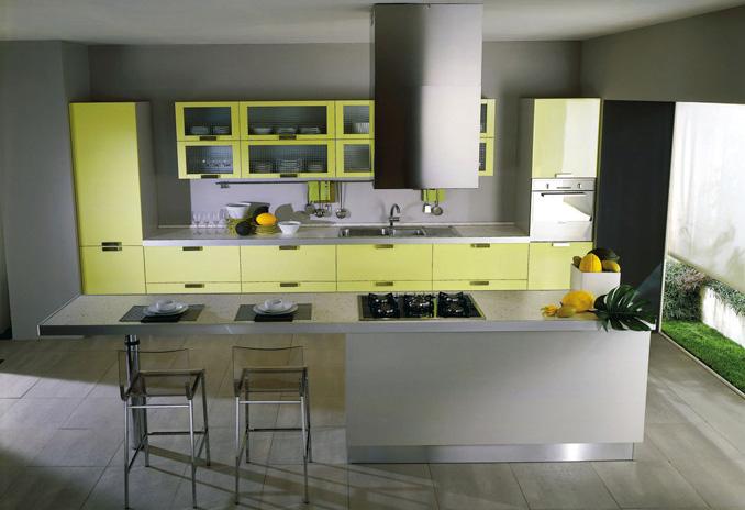 Modern Yellow Kitchen Ideas