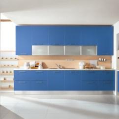 Modular Kitchen Usa Scrubber Blue Kitchens Ala Cucine