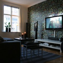 Amazing Living Room Wallpaper Painting Ideas Tv Setups Drawing Design
