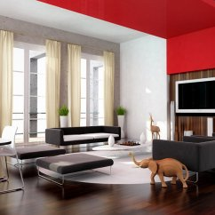 Black And Red Living Room Decorating Ideas Great Colors 28 White Rooms Innovative Design