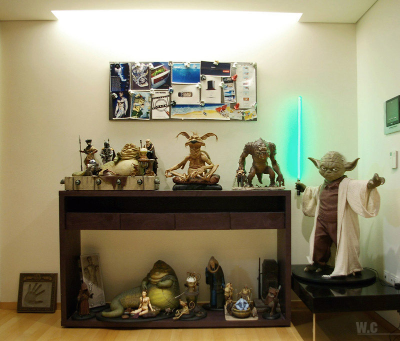 When decorating rooms, every room should connect to those around it in some way. Ultimate Star Wars Room Decor