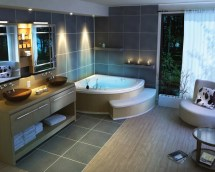 Modern Spa Bathroom Design Ideas